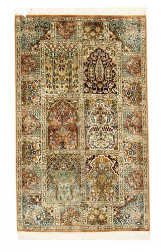Kashmir pure silk 128x79 - 1