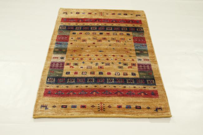 Gabbeh Design Bambus Seide Indischer Teppich 151x94 Id34759 Kaufen