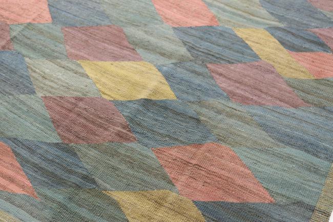 Fußboden Modern Quilt ~ Kelim modern afghanischer teppich 365x274 id45993 kaufen sie ihren
