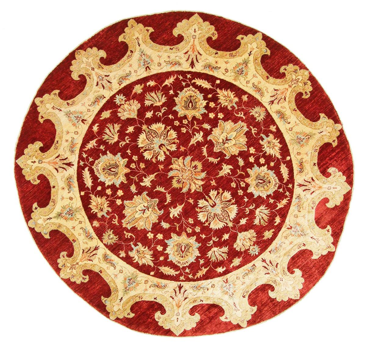 ziegler pakistanischer teppich 240x240 id14722 kaufen sie ihren orientteppich z 250x250 bei. Black Bedroom Furniture Sets. Home Design Ideas