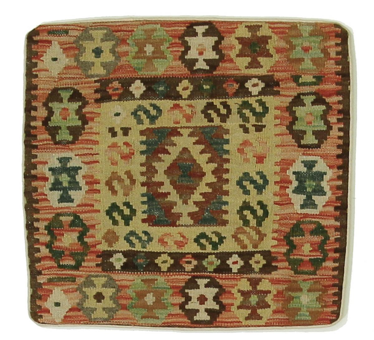 kelim kissen afghanischer teppich 50x50 id17082 kaufen sie ihren orientteppich kelim teppich. Black Bedroom Furniture Sets. Home Design Ideas