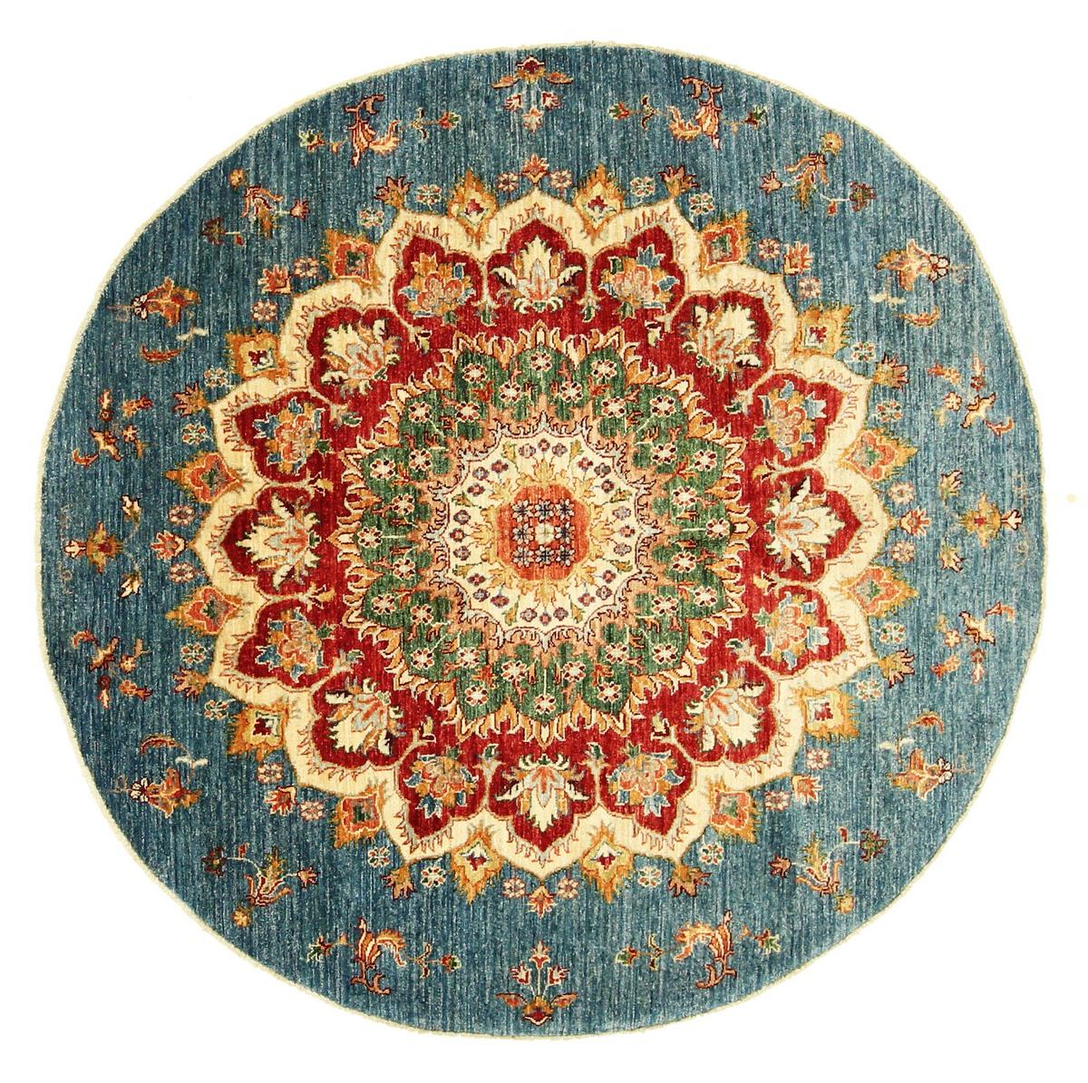 arijana klassik pakistanischer teppich 170x166 id18612 kaufen sie ihren orientteppich arijana. Black Bedroom Furniture Sets. Home Design Ideas