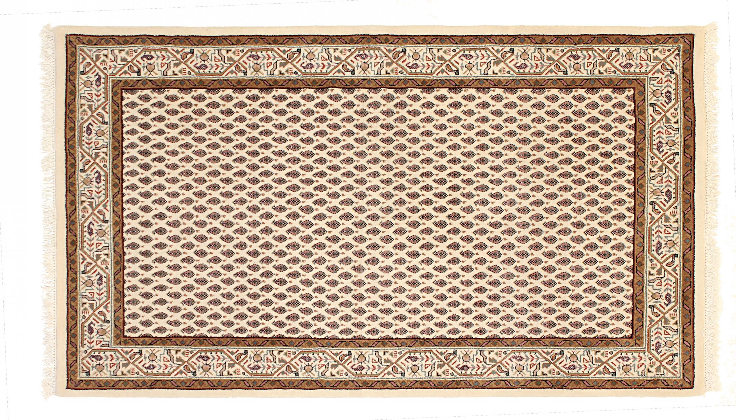indo mir indischer teppich 158x86 id27486 kaufen sie ihren orientteppich i 150x100 bei naintrading. Black Bedroom Furniture Sets. Home Design Ideas