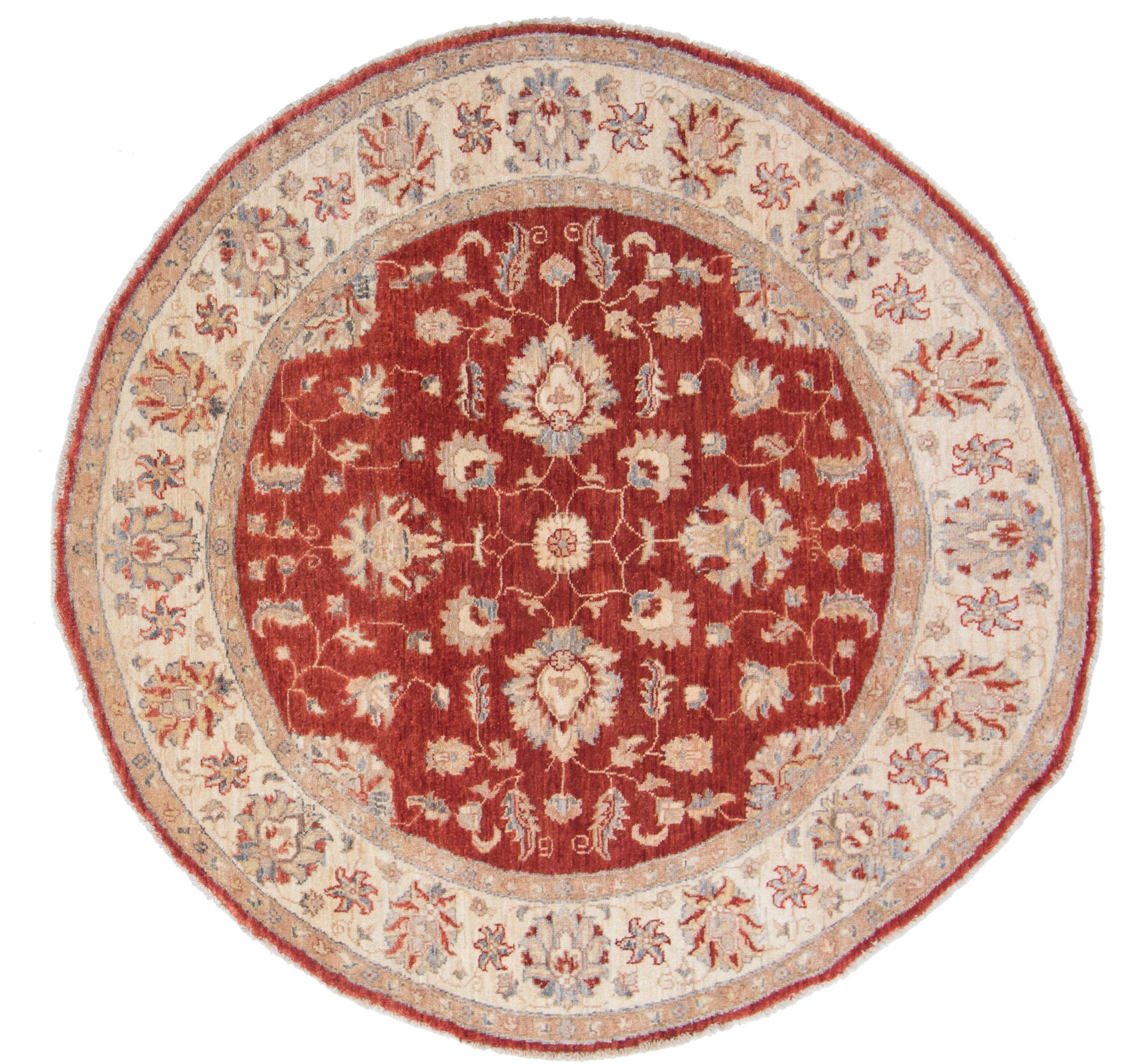 ziegler farahan afghanischer teppich 156x154 id40256 kaufen sie ihren orientteppich z 150x150. Black Bedroom Furniture Sets. Home Design Ideas