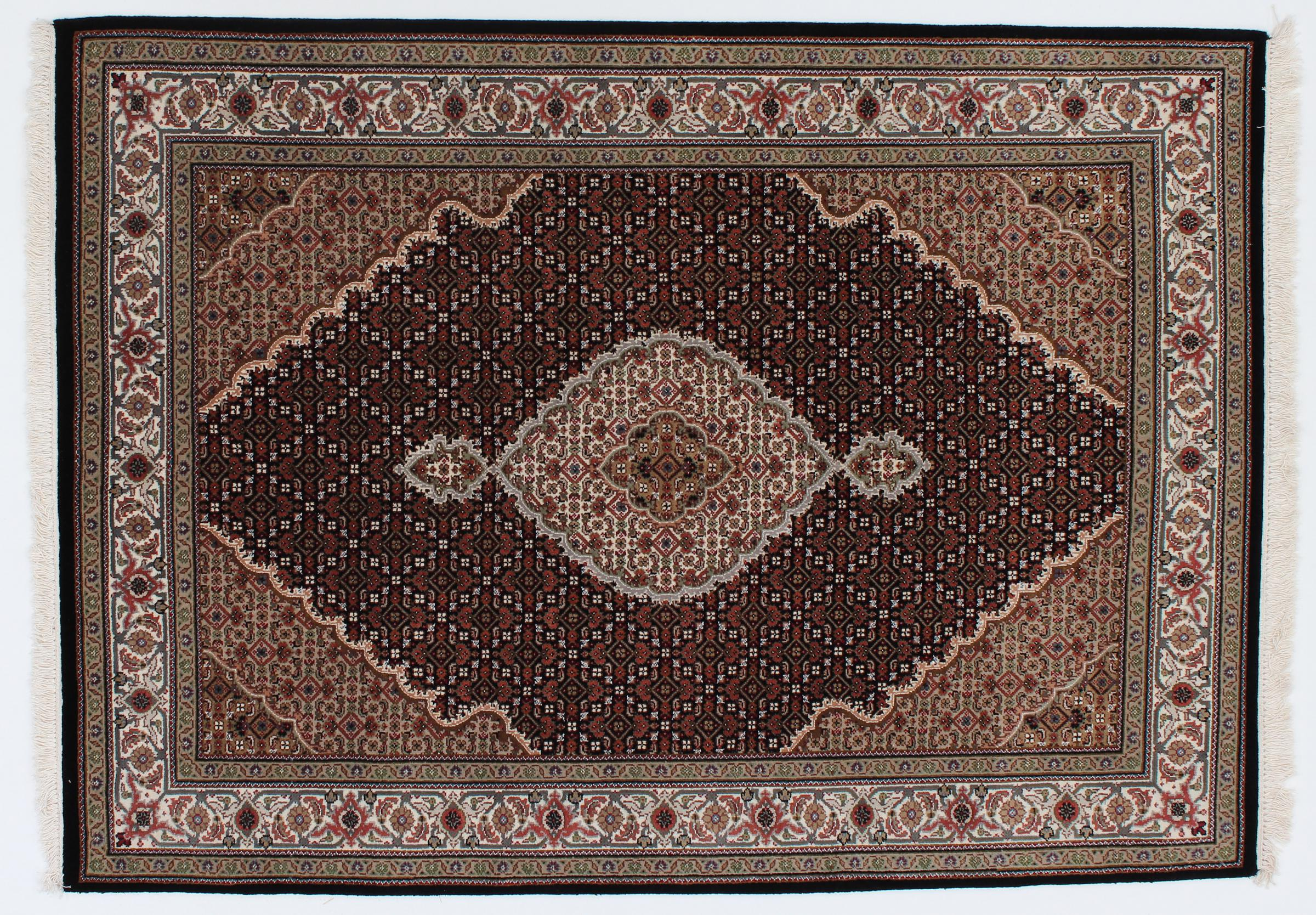 indo t briz indischer teppich 203x143 id23557 kaufen sie ihren orientteppich i 200x150 bei. Black Bedroom Furniture Sets. Home Design Ideas