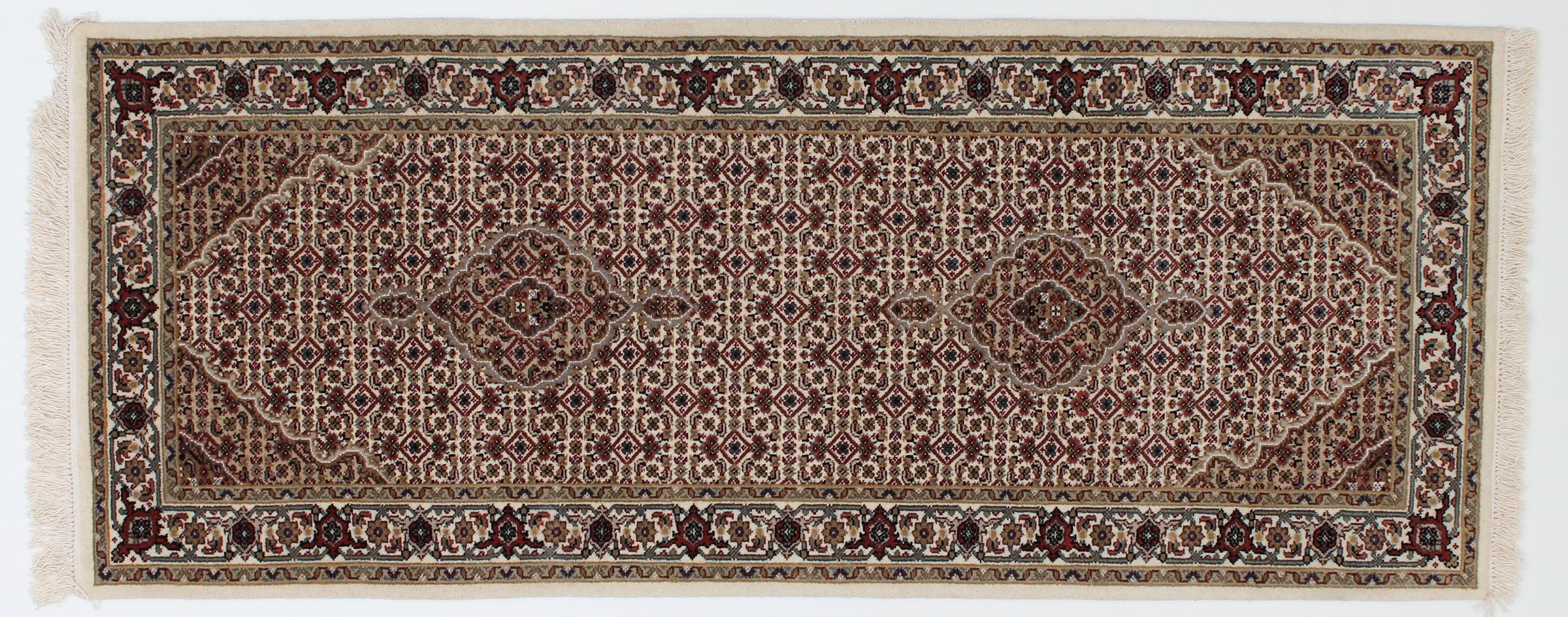 indo t briz indischer teppich 199x79 id23568 kaufen sie ihren orientteppich i 200x80 bei. Black Bedroom Furniture Sets. Home Design Ideas