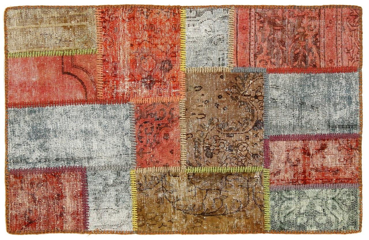 Patchwork alfombra 108x70 id6280 compre su alfombra for Alfombras patchwork persas