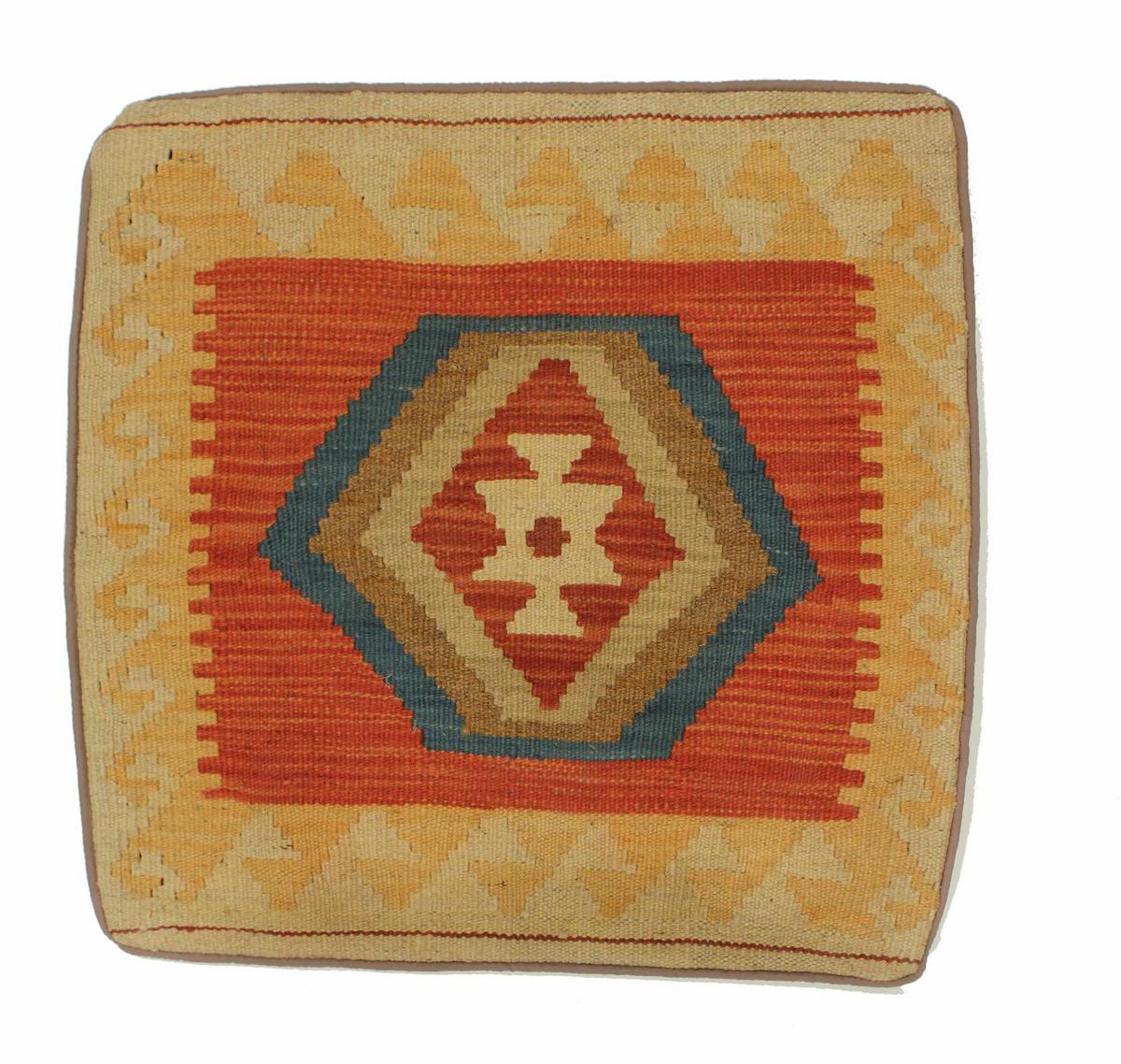 kelim kissen afghanischer teppich 50x50 id11104 kaufen sie ihren orientteppich kelim teppich. Black Bedroom Furniture Sets. Home Design Ideas