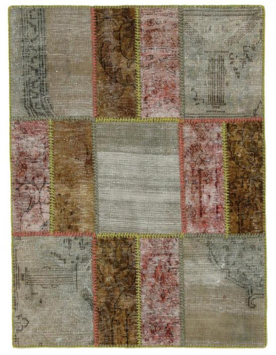 Patchwork 120x90 ID6261 | NainTrading: Alfombras Orientales