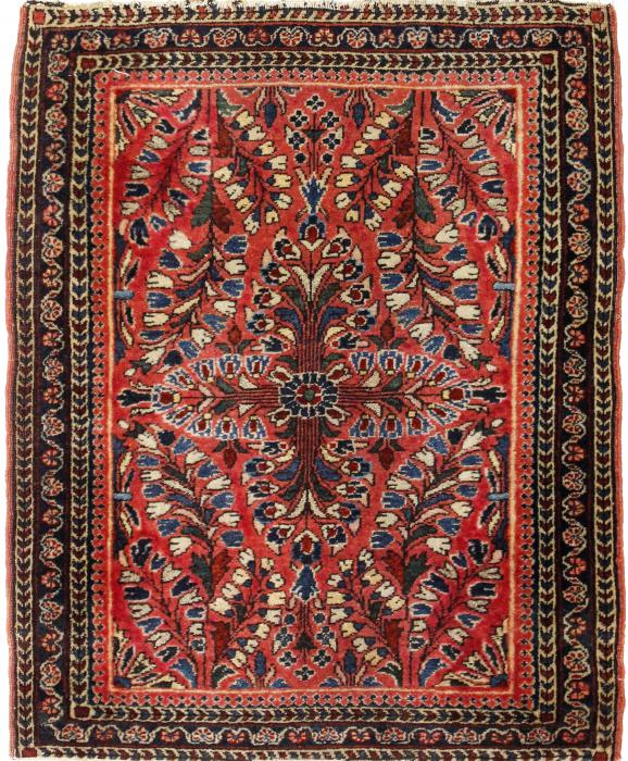 Sarough Antiguo 74x59 ID110758 | NainTrading: Alfombras
