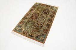 Kashmir pure silk 128x79 - 2