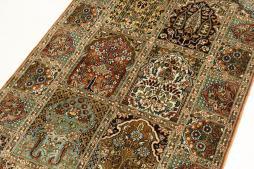 Kashmir pure silk 128x79 - 4