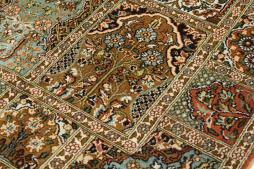 Kashmir pure silk 128x79 - 6