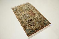 Kashmir pure silk 128x79 - 7